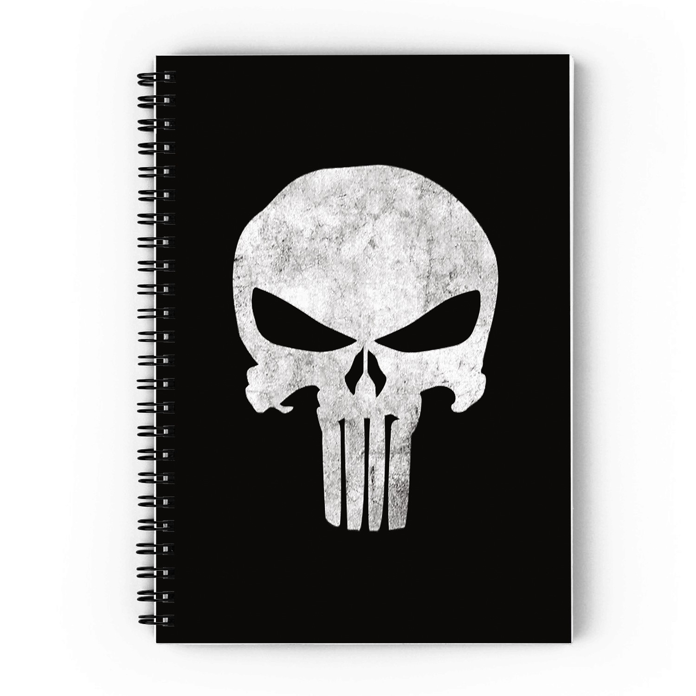 Punisher Spiral Notebook