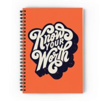 Know Your Worth Spiral Notebook