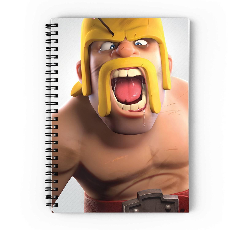 Barberians Spiral Notebook