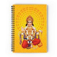 Hanuman Ji Spiral Notebook