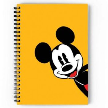 Mickey Mouse Spiral Notebook
