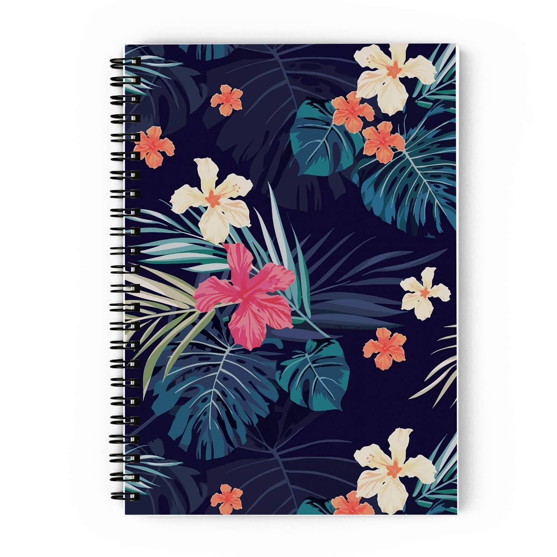 Vintage Floral Spiral Notebook